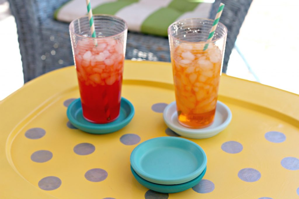 painted ombre coasters party