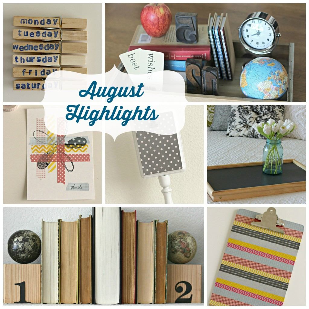 August highlights - Organize & Decorate Everything