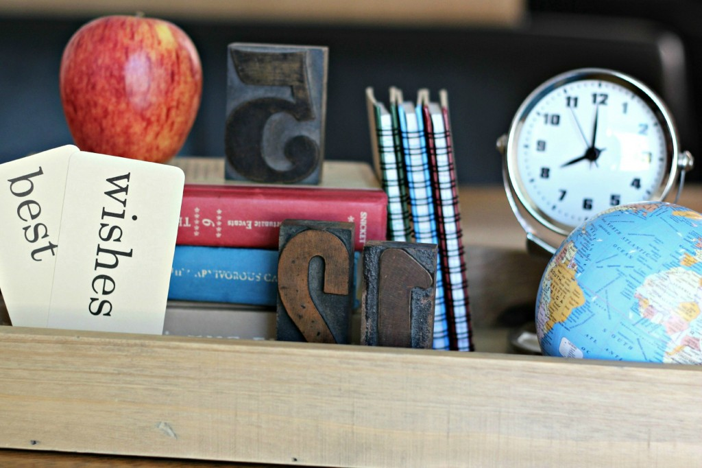 Back to School table setting 4
