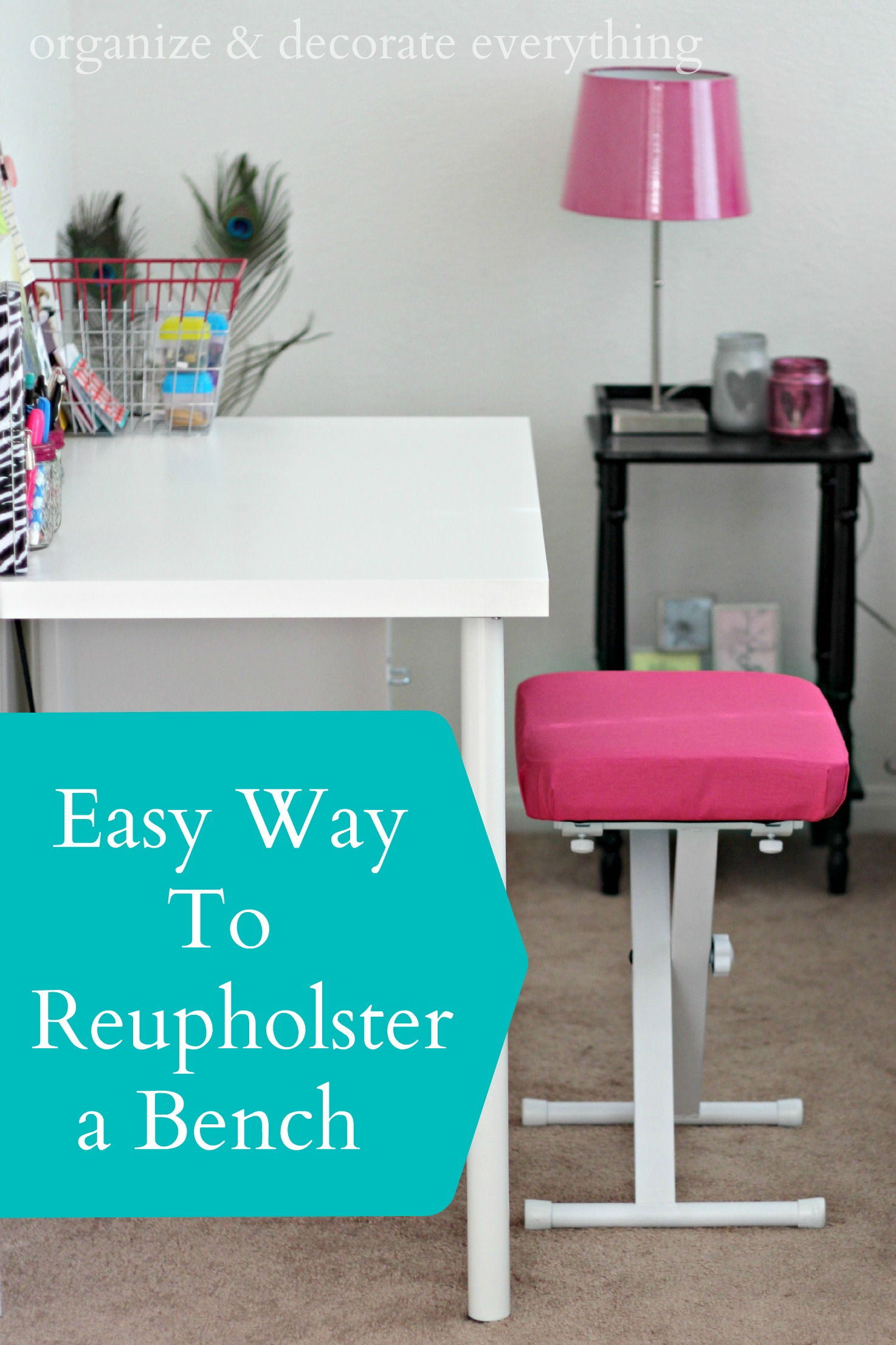 Easy Way To Contour Your Face: Easy Way To Reupholster A Bench