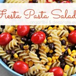 Fiesta Pasta Salad (easy to be made gluten-free)