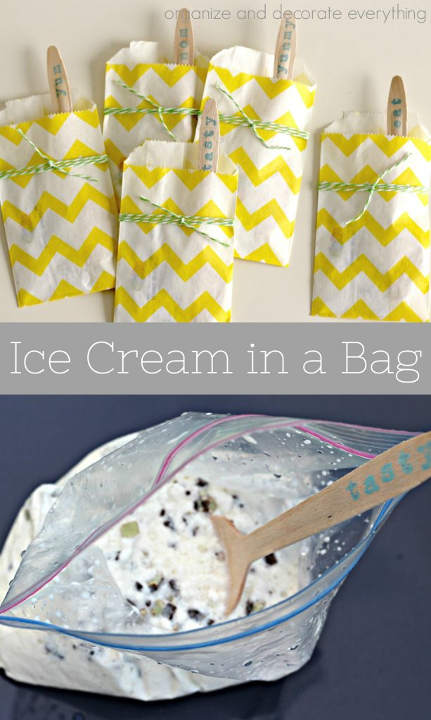 Ice Cream in a Bag is the perfect Summertime treat