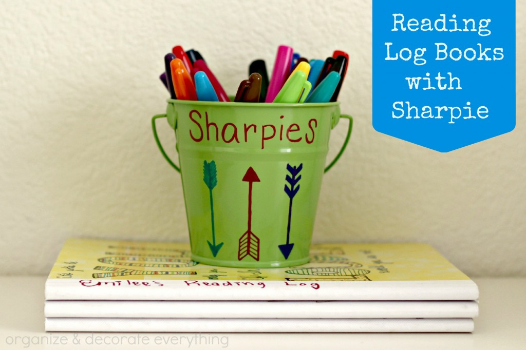 Reading Log Book with Sharpie 1.1