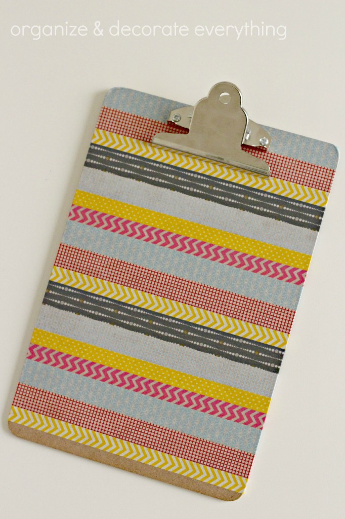 Wash Tape Clipboard.1