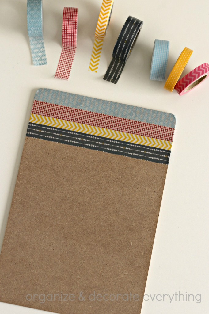 Washi Tape Clipboard 4.1