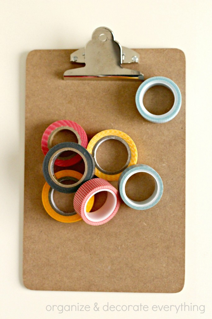 Washi Tape Clipboard 6.1