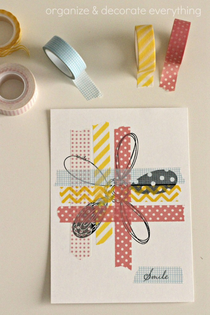 Washi Tape and Stamp Art 3.1