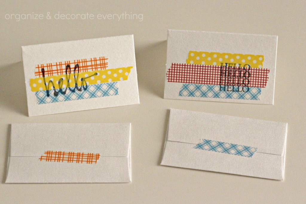 Washi Tape and Stamp Art 8.1