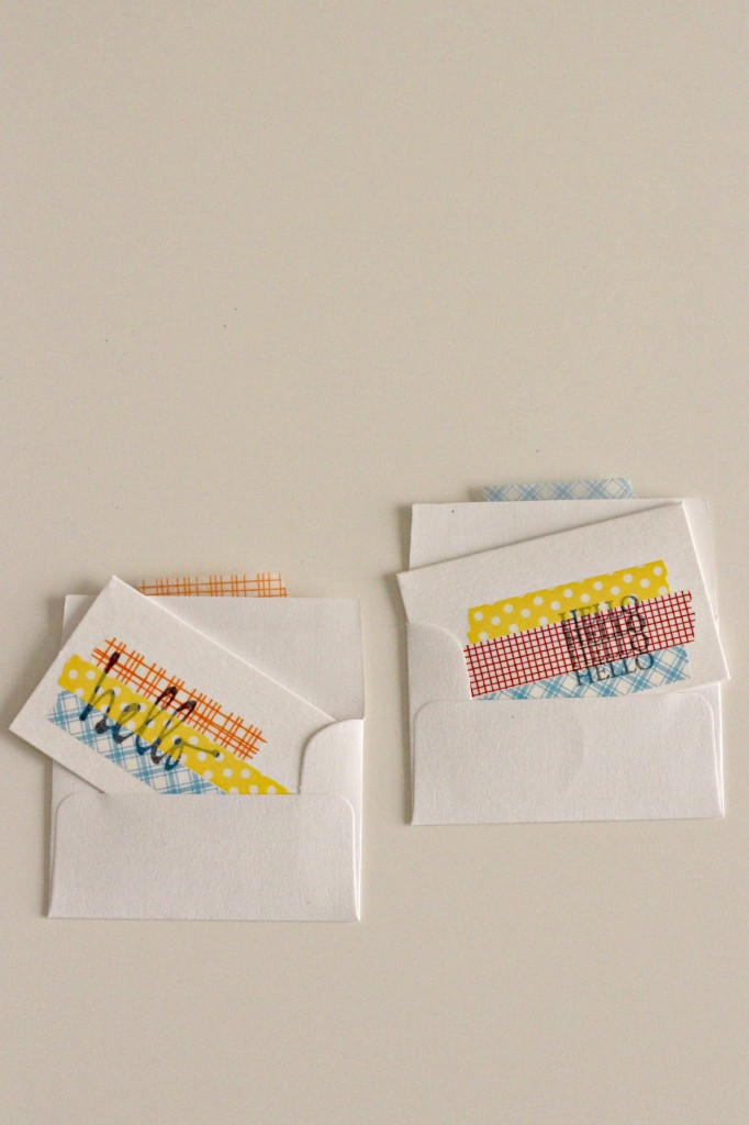 Washi Tape and Stamp Art 9