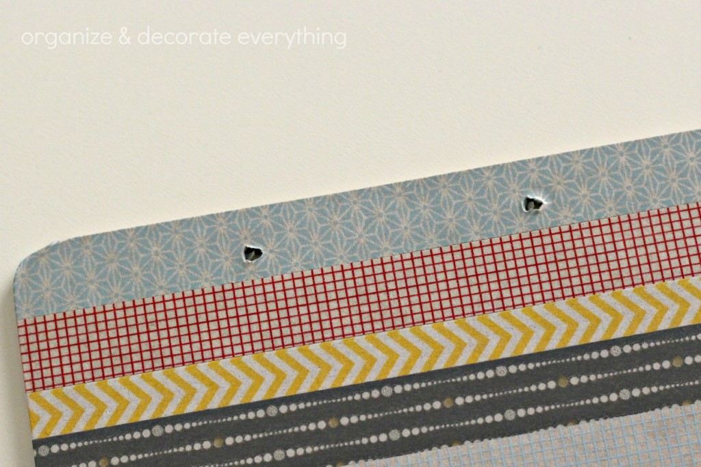 Washi tape Clipboard 7.1