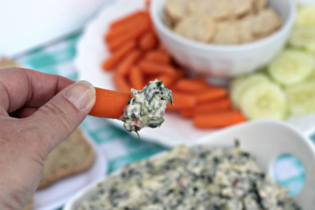 creamy spinach & artichoke dip 11