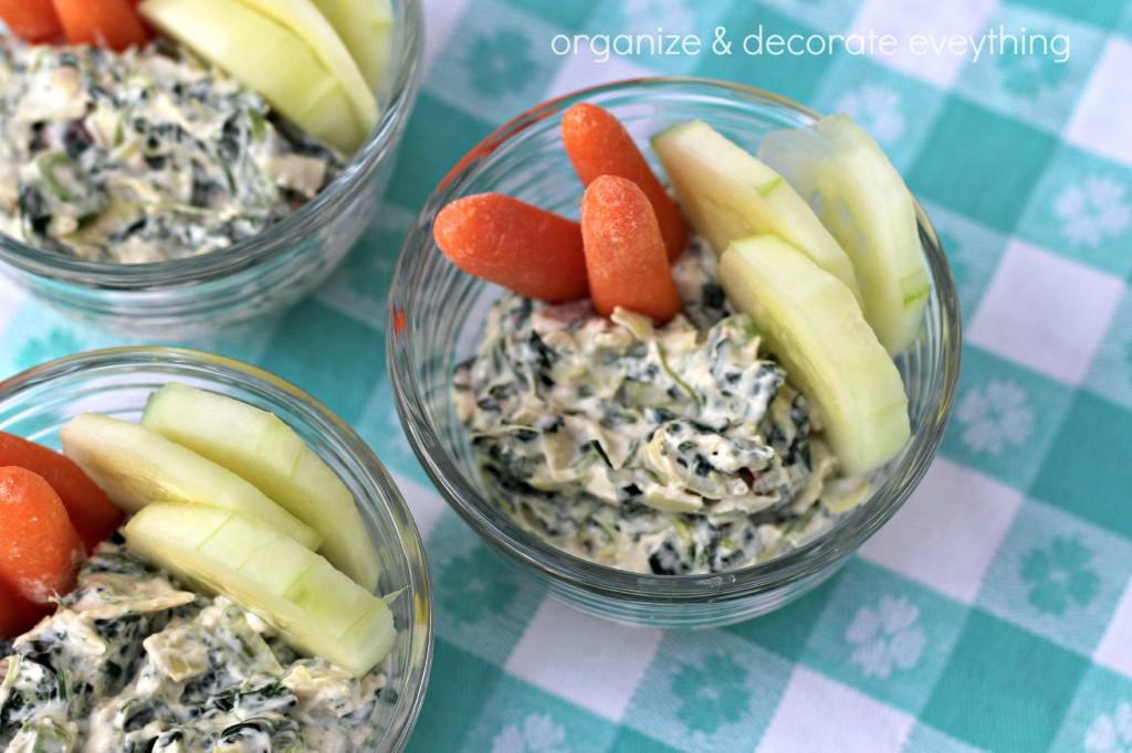 creamy spinach & artichoke dip 3.1