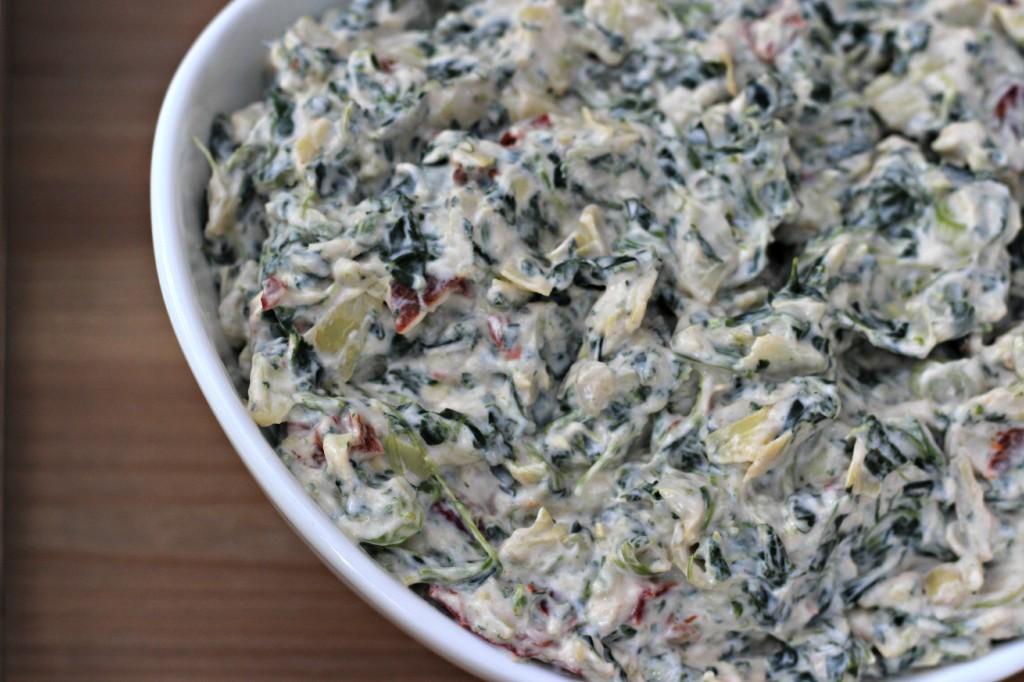 creamy spinach & artichoke dip 6
