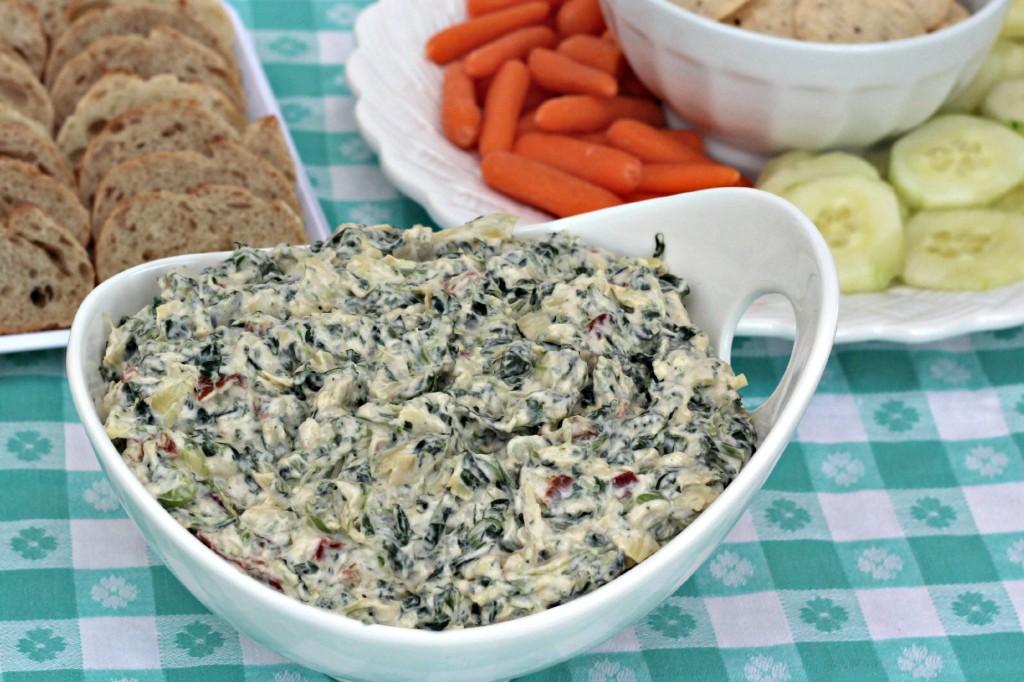 creamy spinach & artichoke dip 9