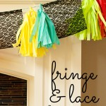 Fringe & Lace Banner – Party Contributor