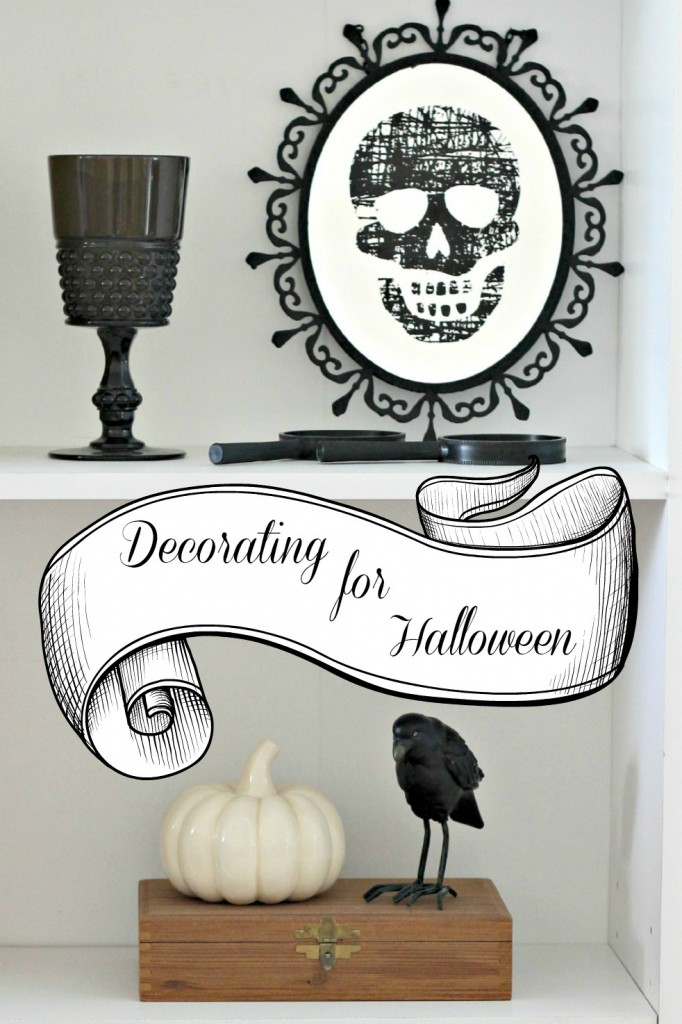 Decorating for Halloween - Organize & Decorate Everything
