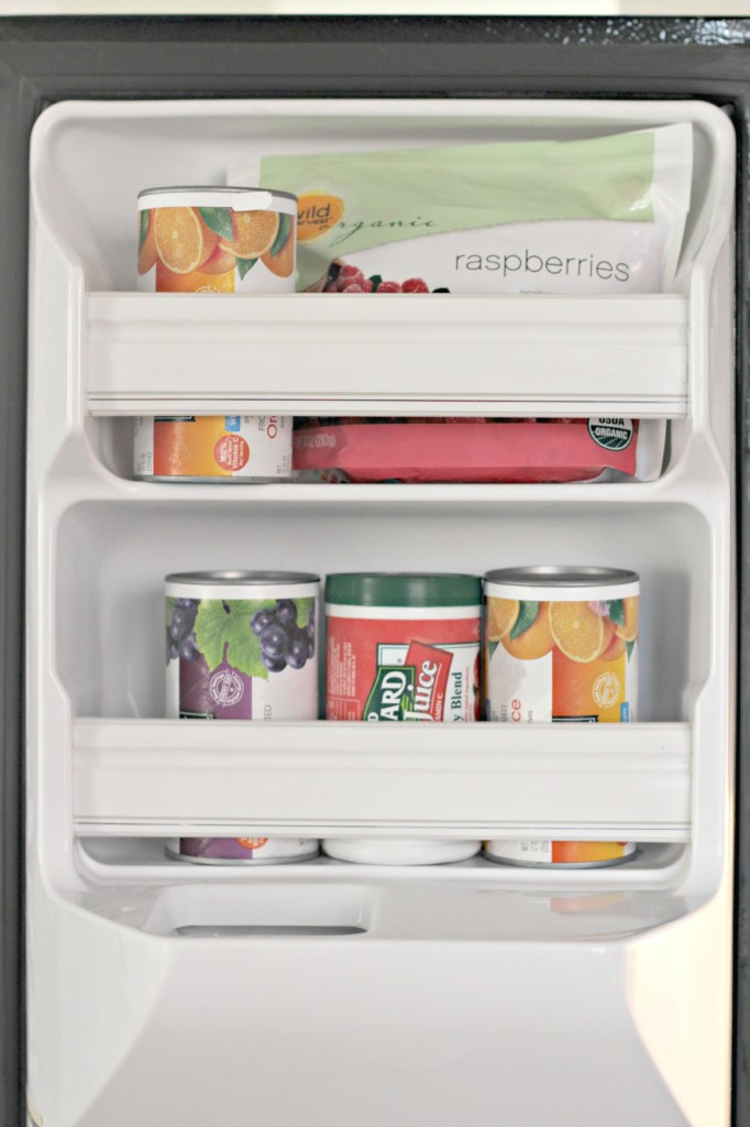 Freezer Organizing 2