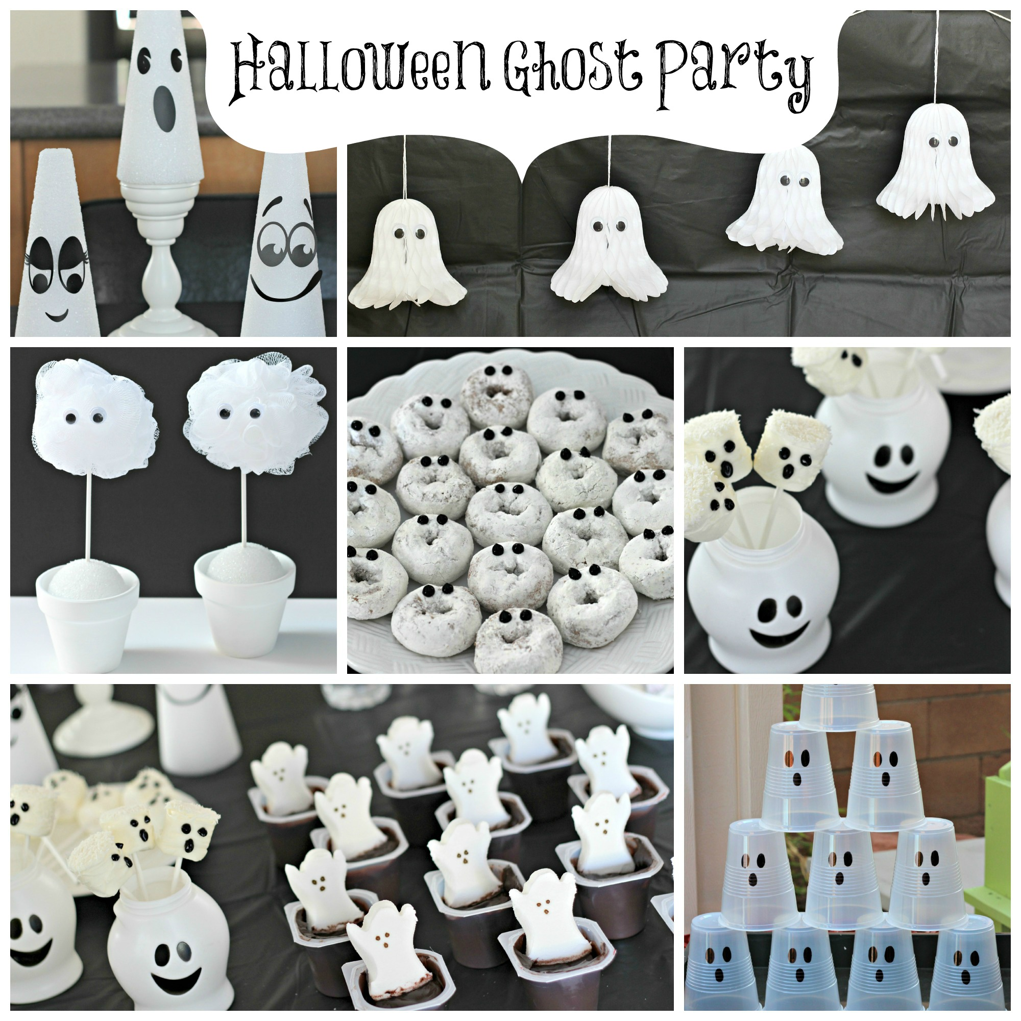 Halloween Ghost Party | Organize and Decorate Everything ...