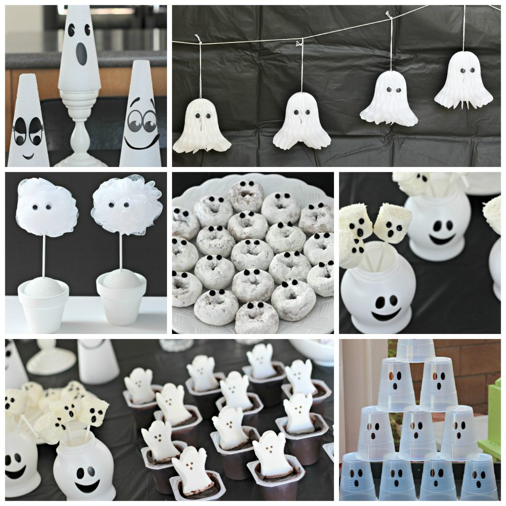 Halloween Ghost party pinterest
