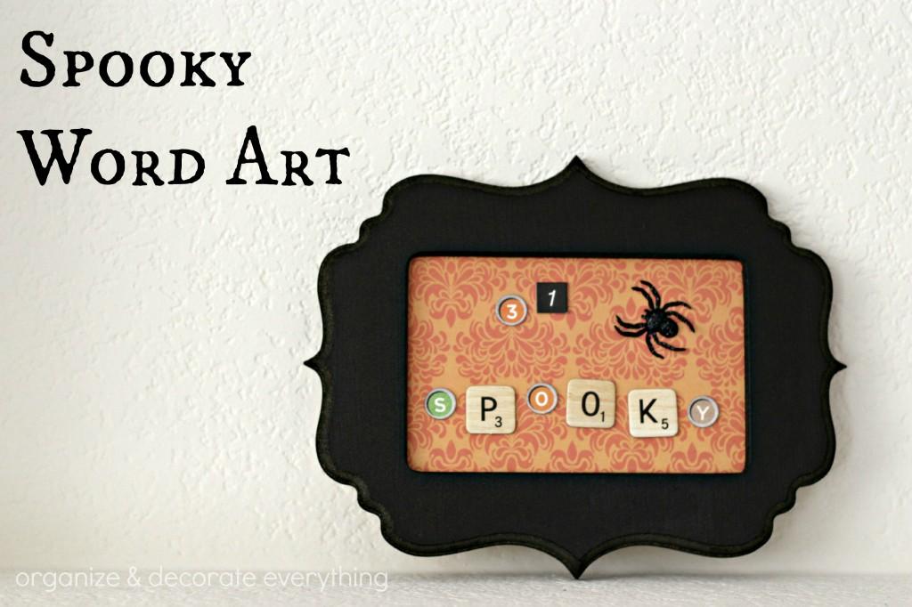 Spooky Word Art.1