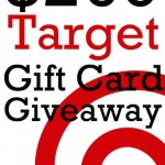 $260 Target Gift Card Giveaway