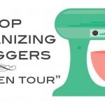 Top Organizing Bloggers Kitchen Tour – Fridge and Freezer