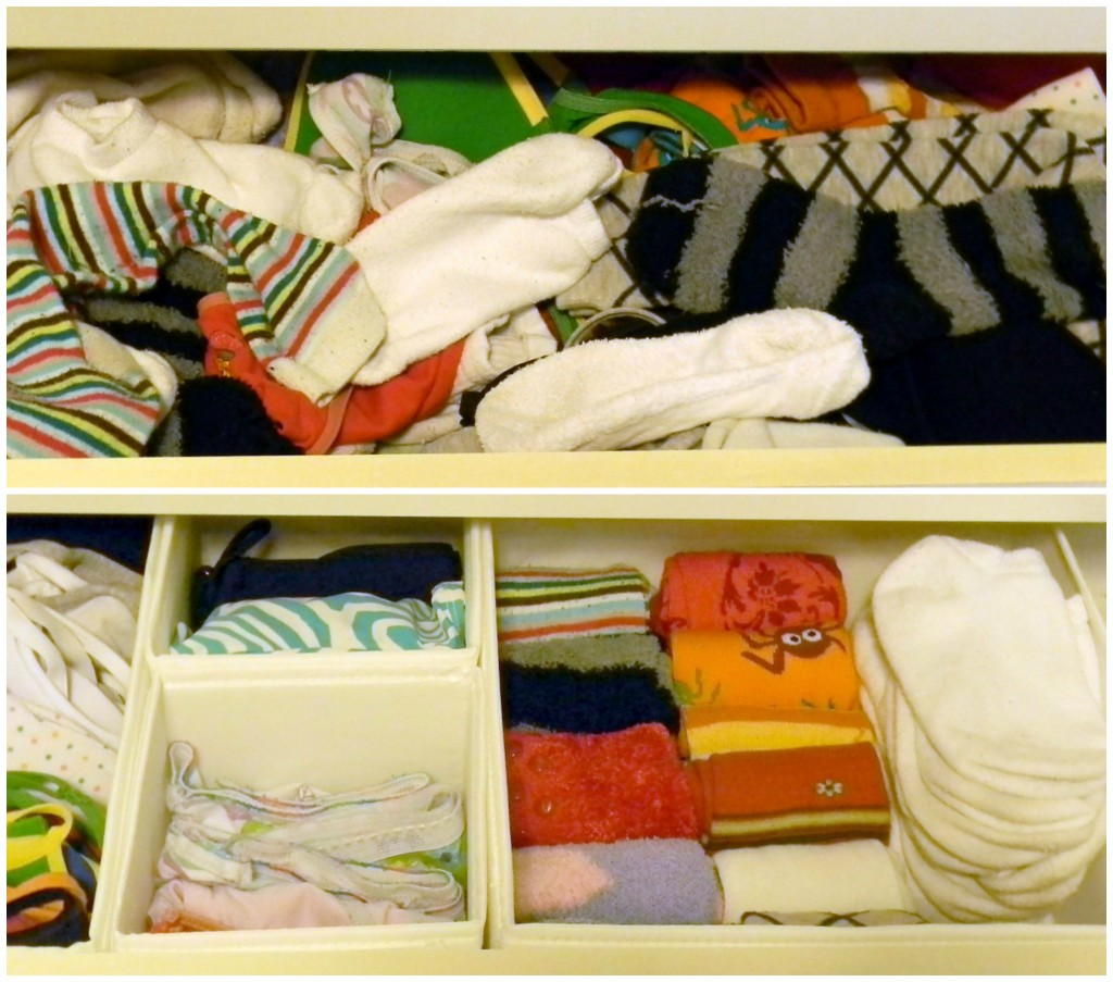 15 minute organizing dresser drawers 2