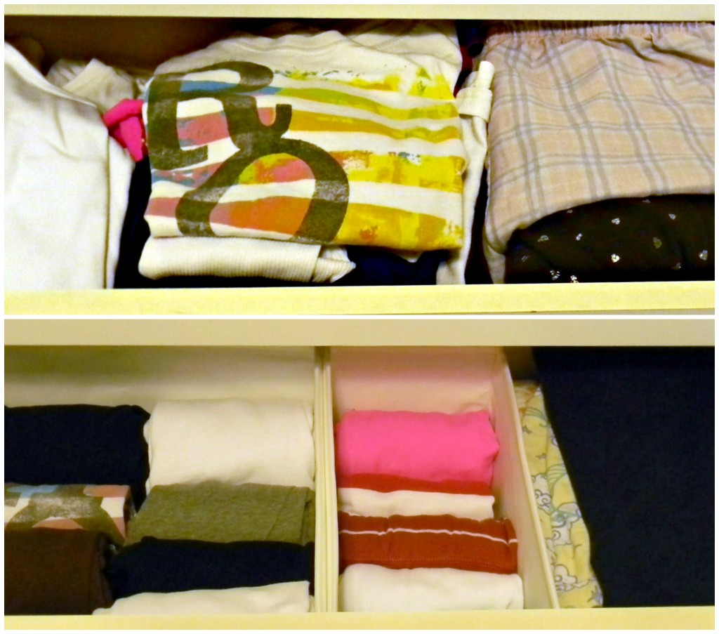 15 minute organizing dresser drawers 3