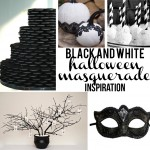 Black and White Halloween Masquerade Inspired Party – Party Contributor