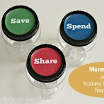 Money Jars and Teaching Kids about Finances