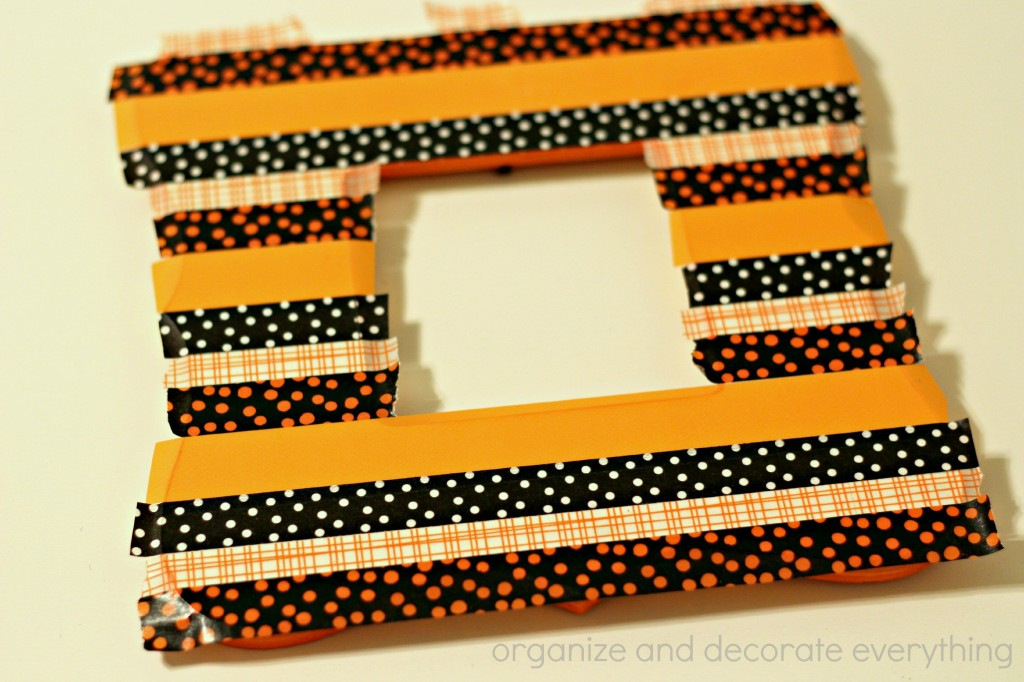 Washi Tape Halloween Frame 4.1