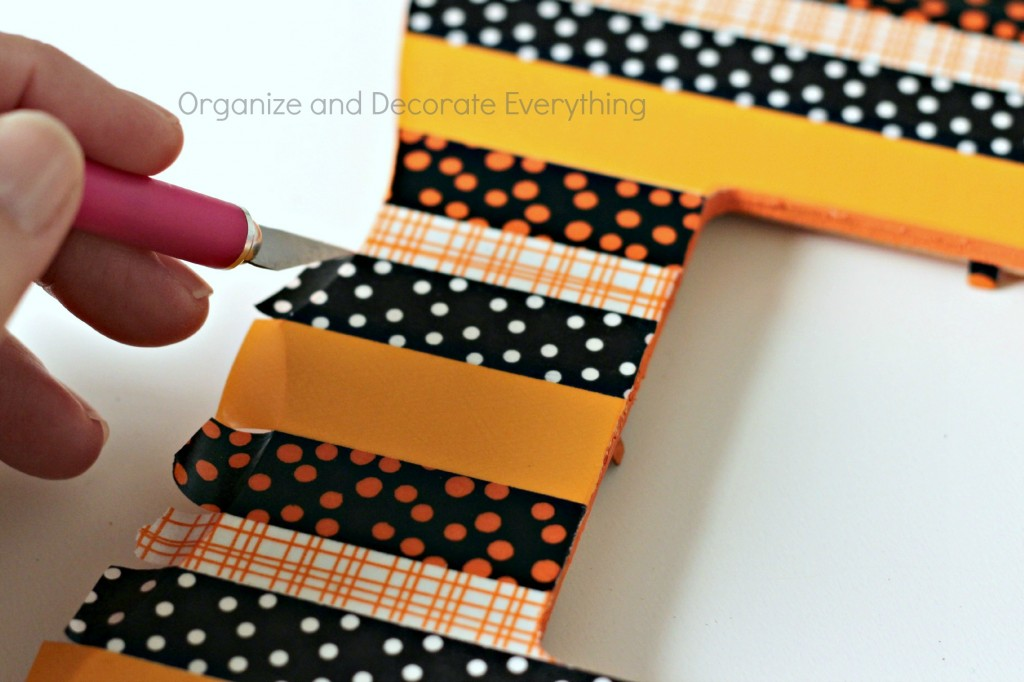 Washi Tape Halloween Frame 5.1