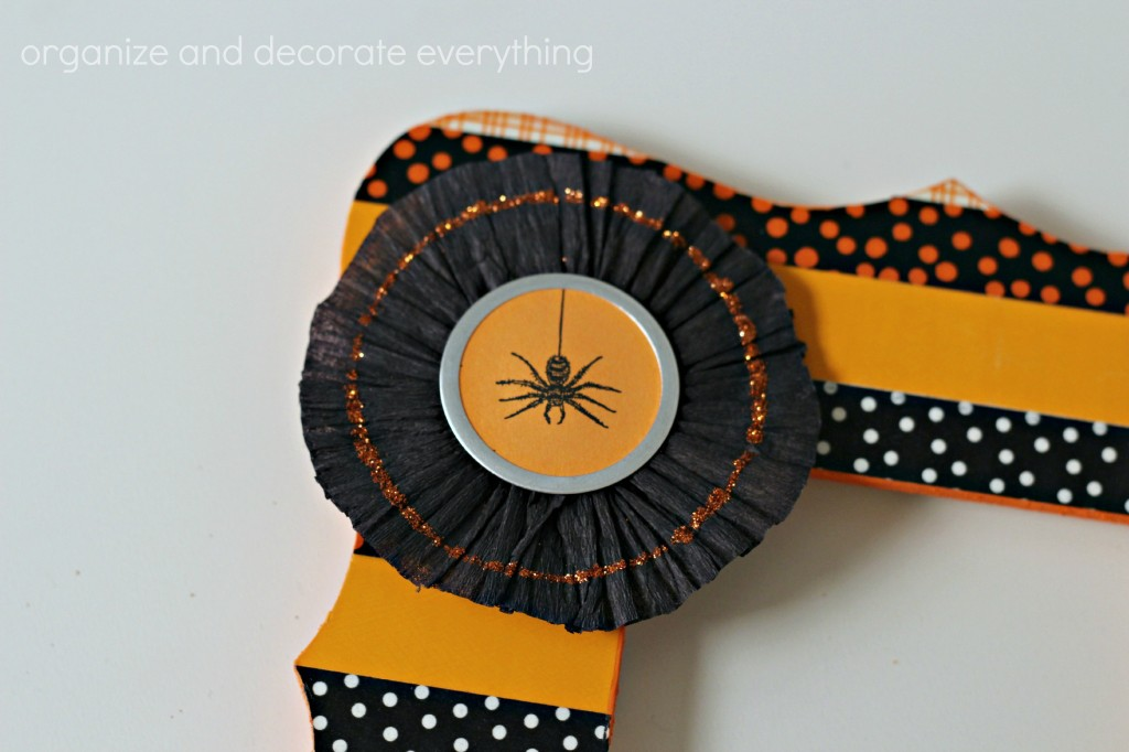 Washi Tape Halloween Frame 6.1