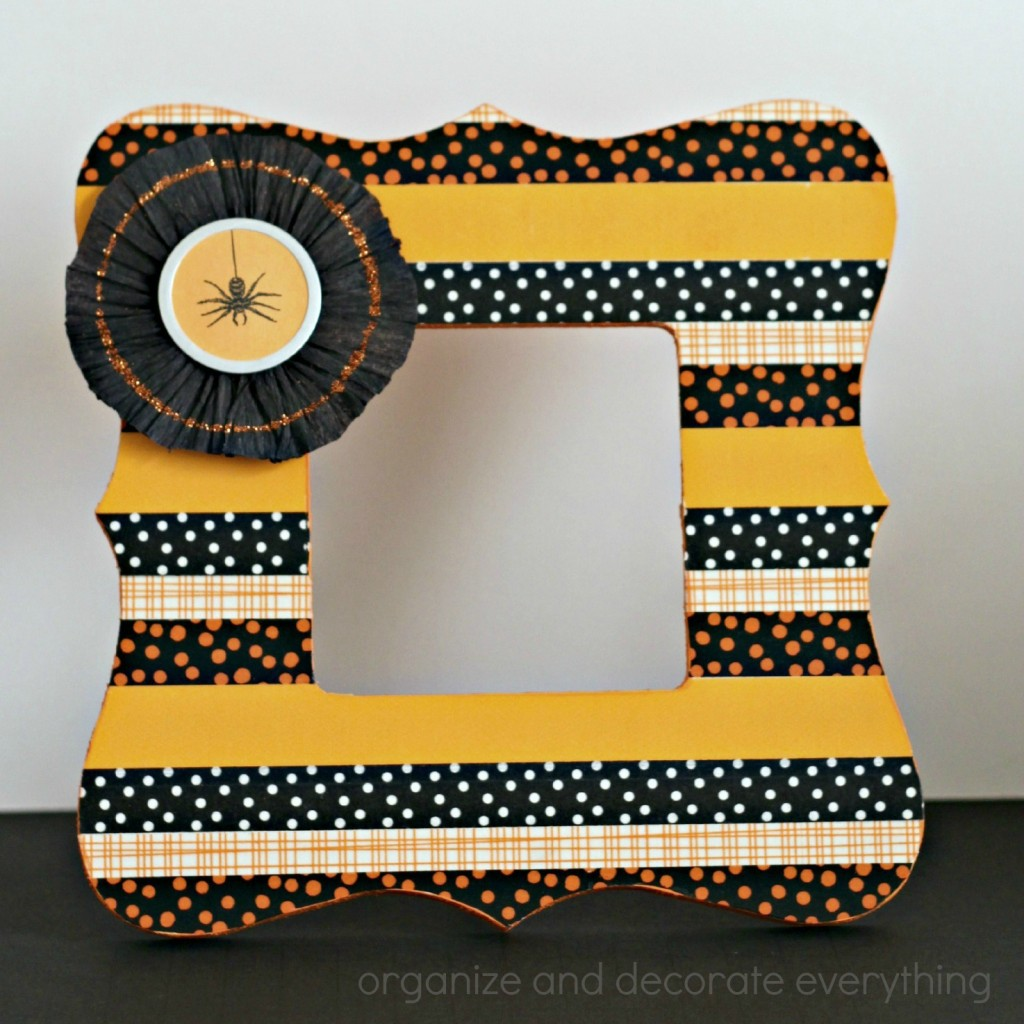 Washi Tape Halloween Frame 7.1