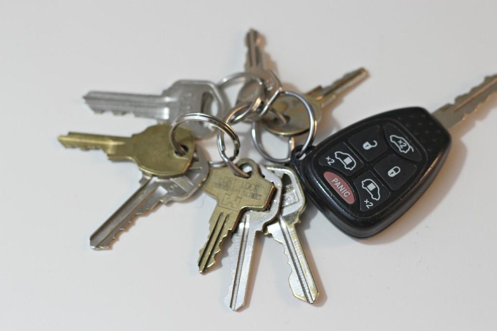 organizing keys 2