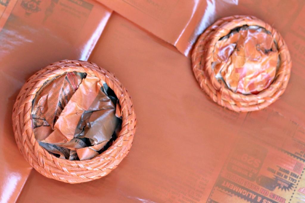 wicker basket pumpkin 12