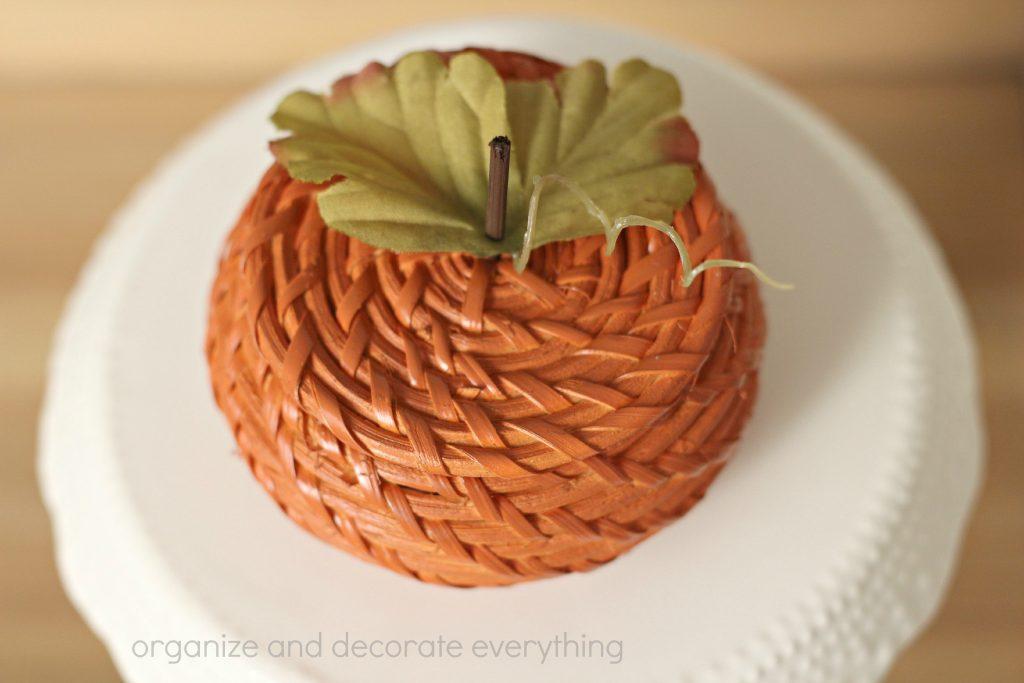 Wicker Basket Pumpkin 7