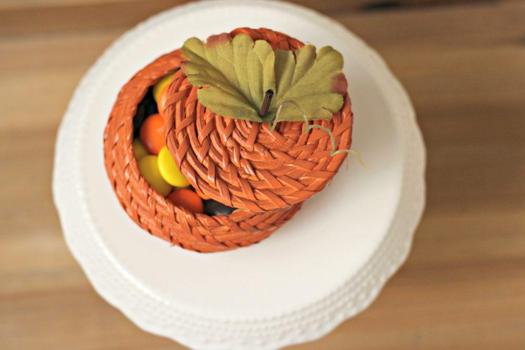 Wicker Basket Pumpkin 8