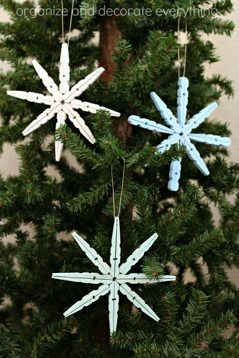 Clothespin Snowflake Ornament.1