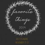 Favorite Things 2014