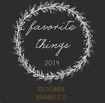 Favorite things banner