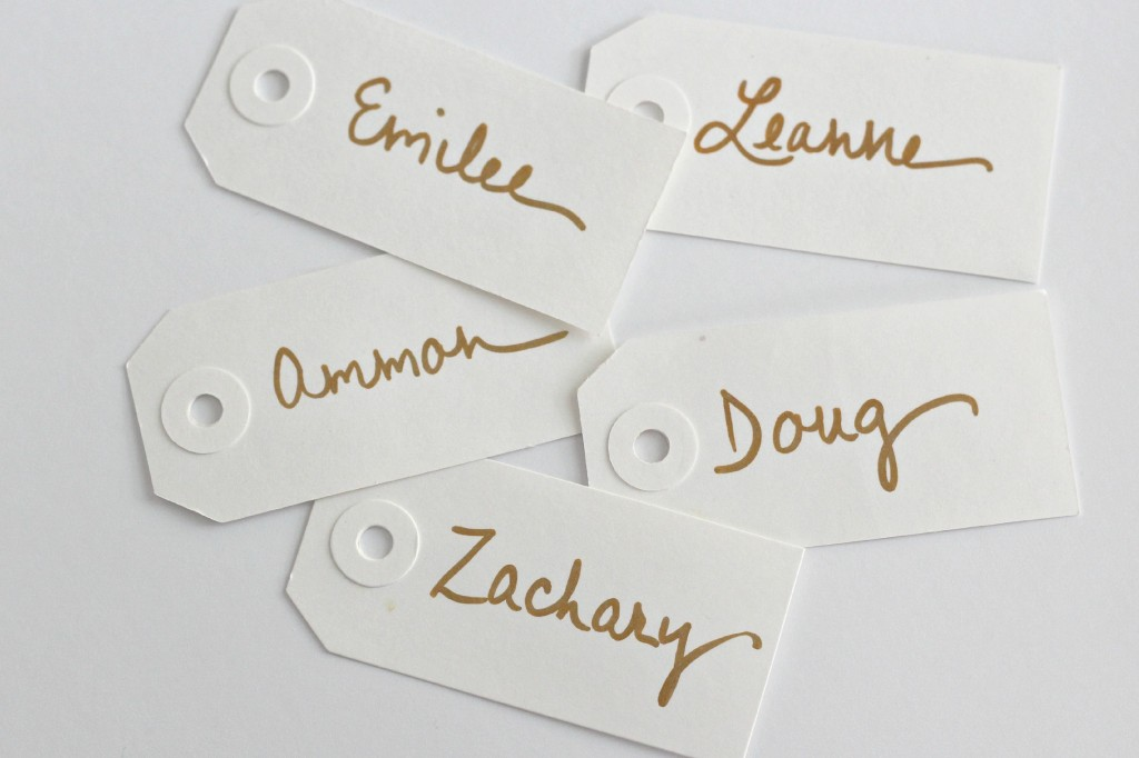 Feather Place Cards 4