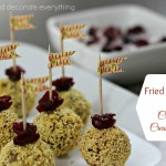 Fried Meatballs with Cranberry Cream Sauce (Gluten Free)