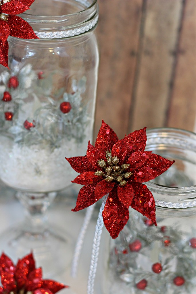 Holiday Mason Jar Luminary 12