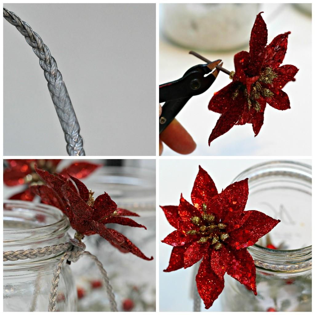 Holiday Mason Jar Luminary 15