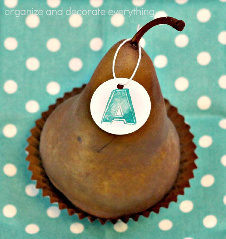 Pear Place Cards 4.1