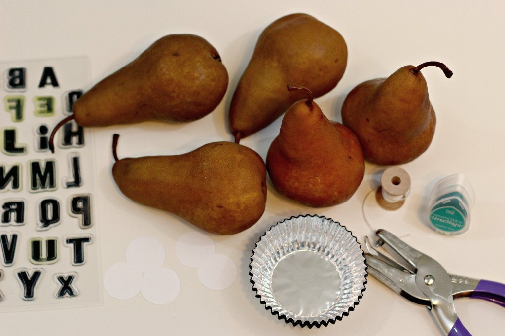 Pear Place Cards 8