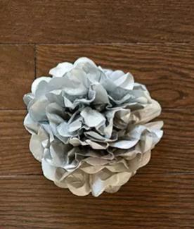 Tissue Paper Pom Pom Place Card
