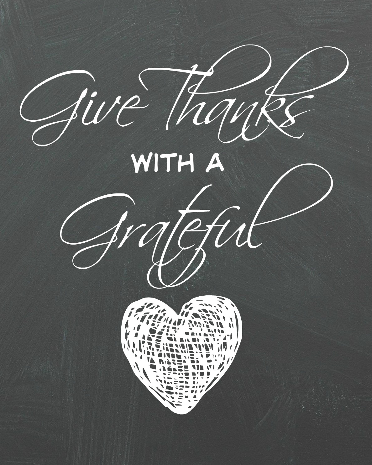 Give Thanks Organize And Decorate Everything