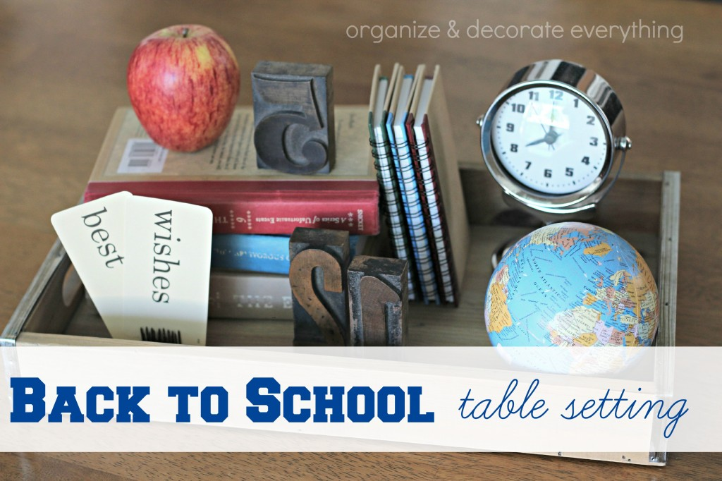 Back to School table setting.1